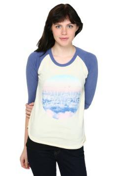 Womens Star Wars Cloud Logo Raglan Shirt