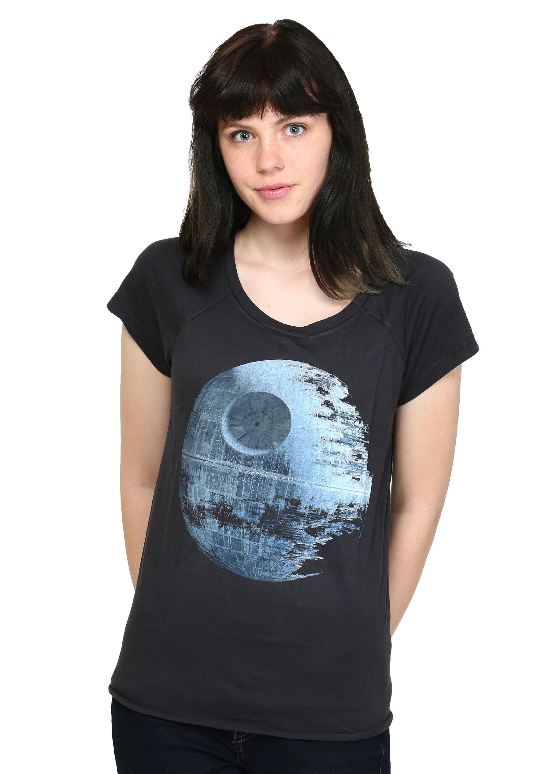 Star Wars Death Star Juniors T-Shirt e842a8ac0