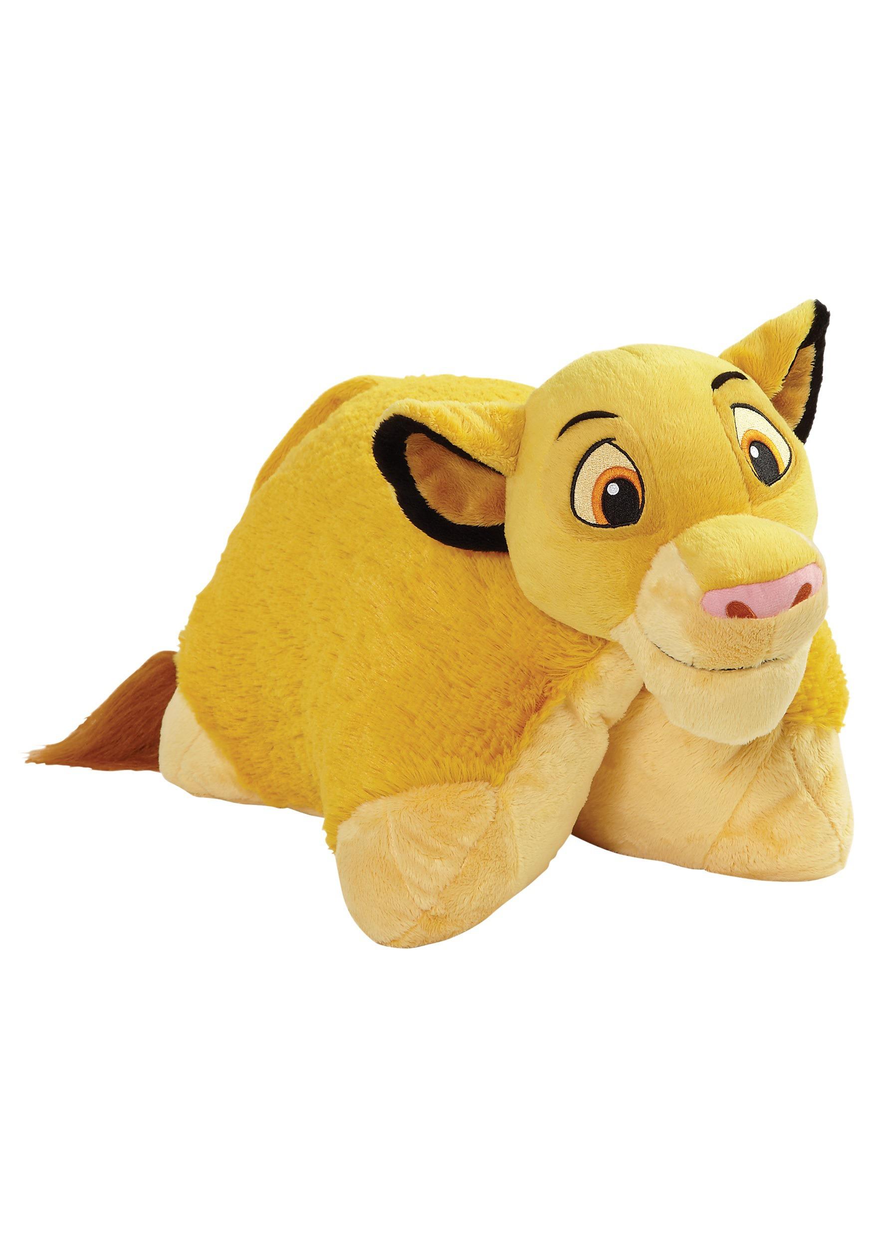 disney lion king simba pillow pet