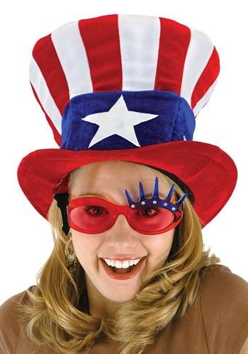Adult Uncle Sam Top Hat