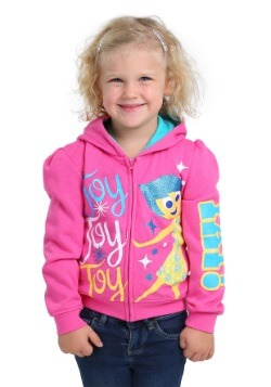 Joy Yay! Girls Hooded Sweatshirt