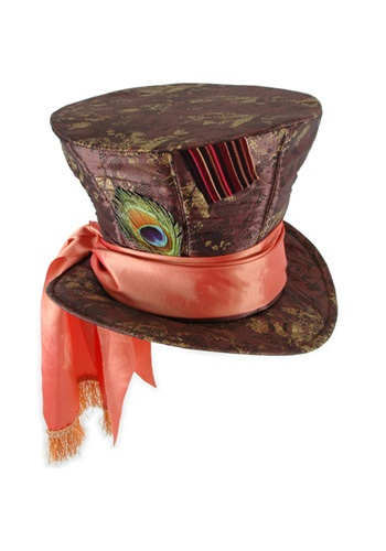 Wonderland Mad Hatter Top Hat