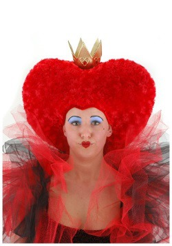 Oversized Queen of Hearts Women's Wig