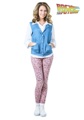 Women's Plus Size Back to the Future Jennifer Parker Costume