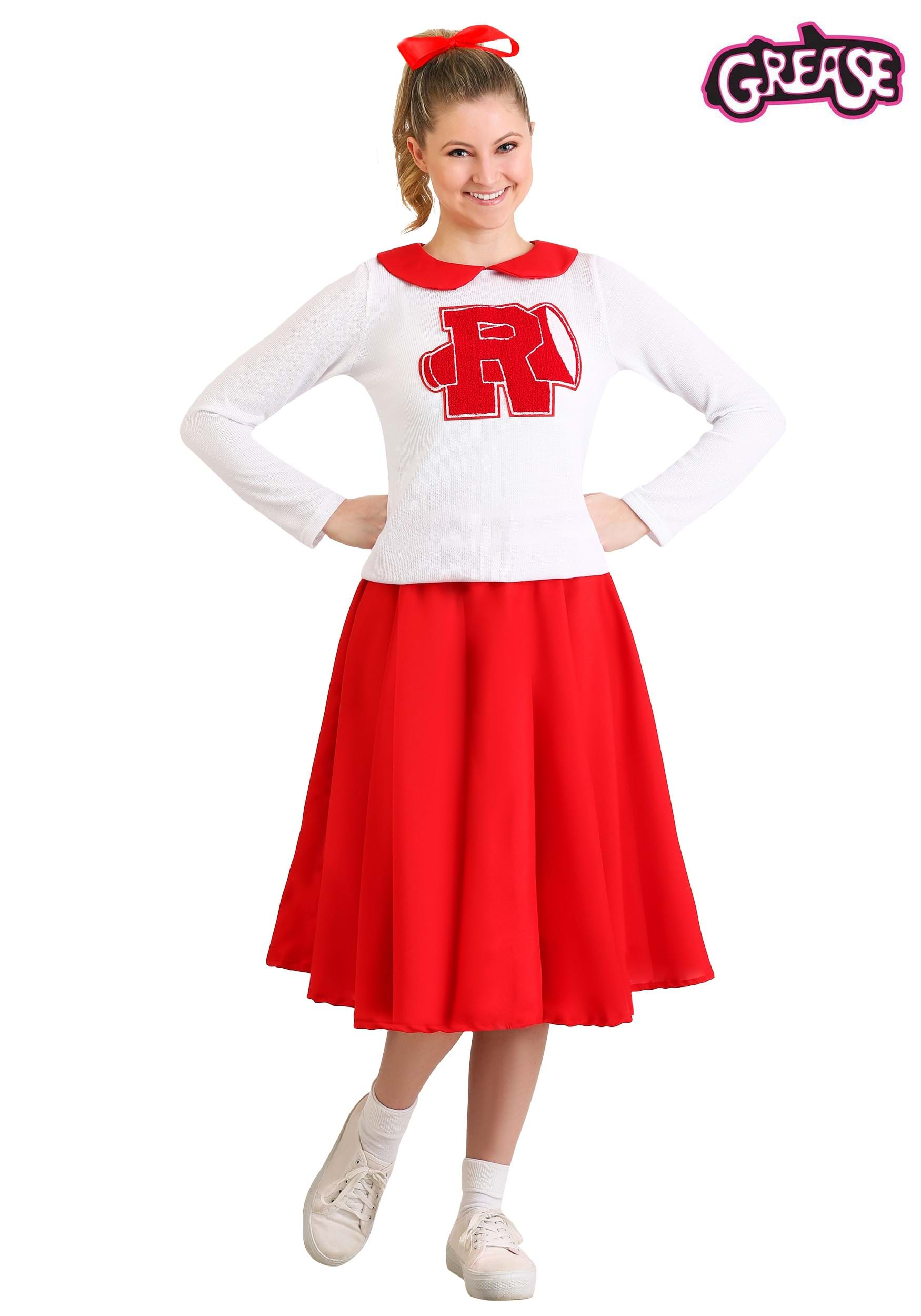 description this women s grease rydell high cheerleader costume