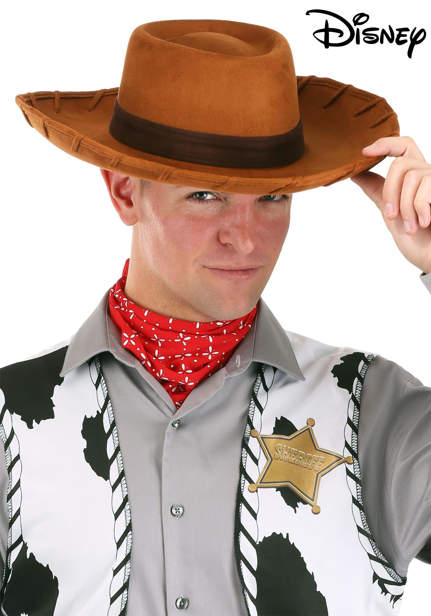 Deluxe Woody Cowboy Hat for Adults