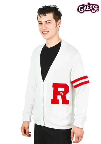Grease Rydell High Men's Letter Sweater Costume update