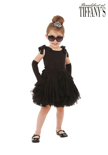 Toddler Girls Breakfast at Tiffany's Holly Golightly Costume