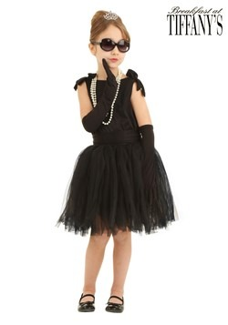 Childrens Breakfast at Tiffany's Holly Golightly Costume