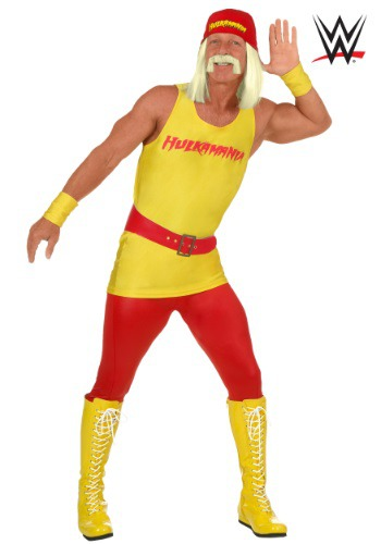 Men's Plus Size WWE Hulk Hogan Costume