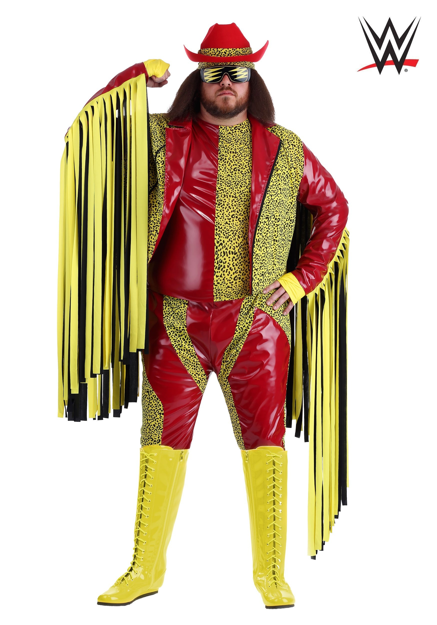 sc 1 st  Fun.com & Plus Size Macho Man Randy Savage Costume