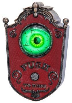 Animated Eyeball Doorbell Halloween Decor