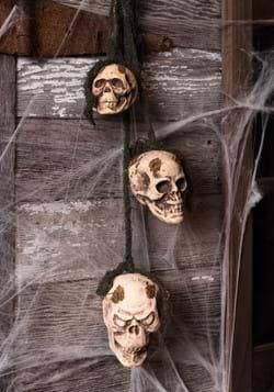 Hanging Rotten Skulls Decoration