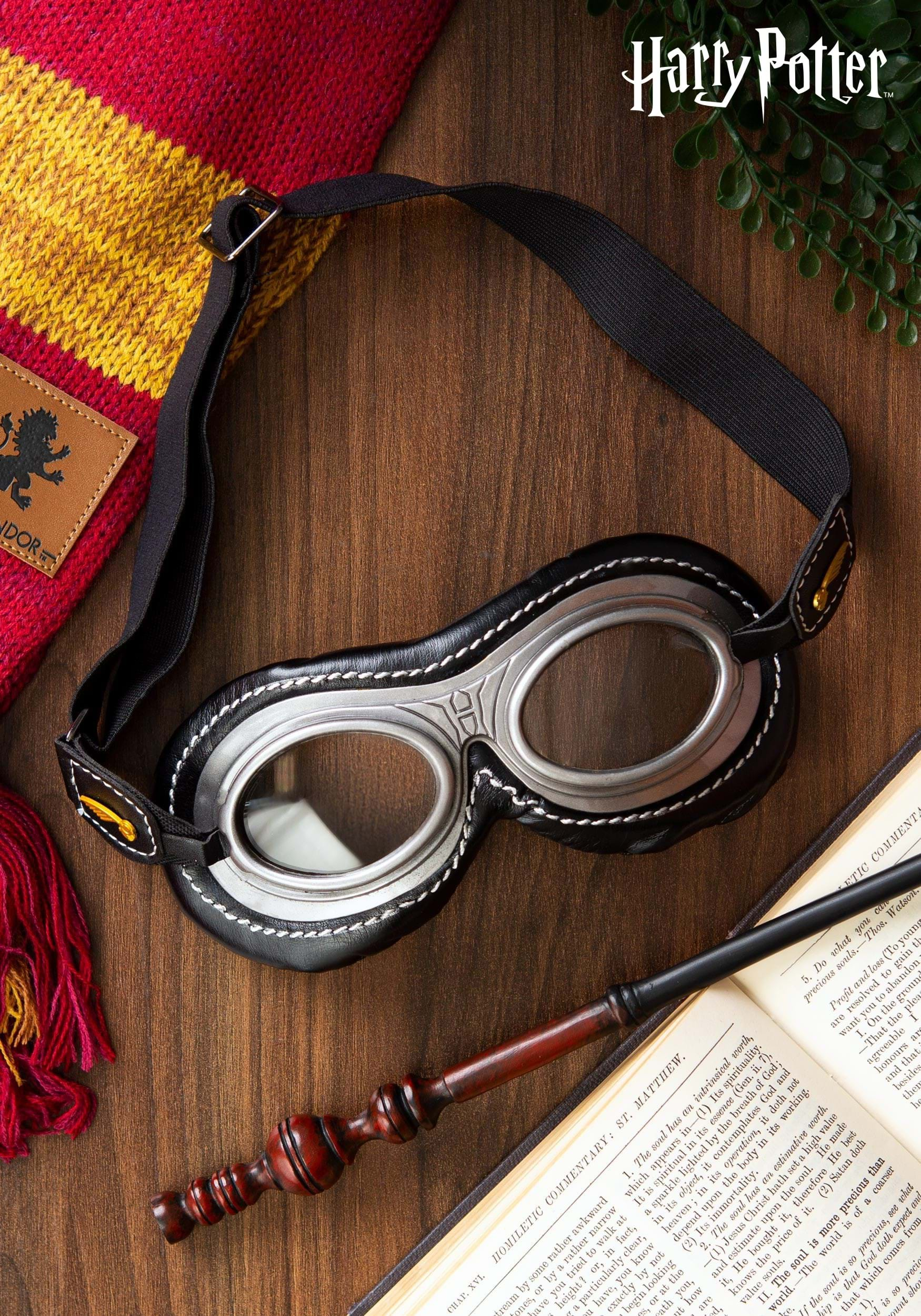 Wizard Quidditch Adult Goggles EL301430