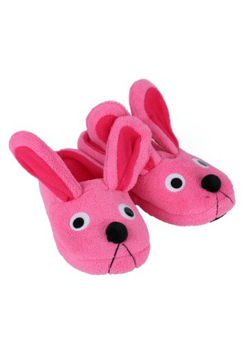 Christmas Story Pink Bunny Slippers