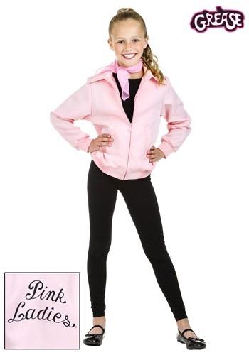 Deluxe Pink Ladies Girls Jacket
