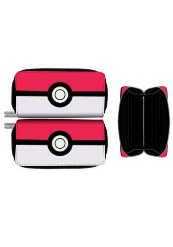 Pokemon Pokeball Zip Around Wallet