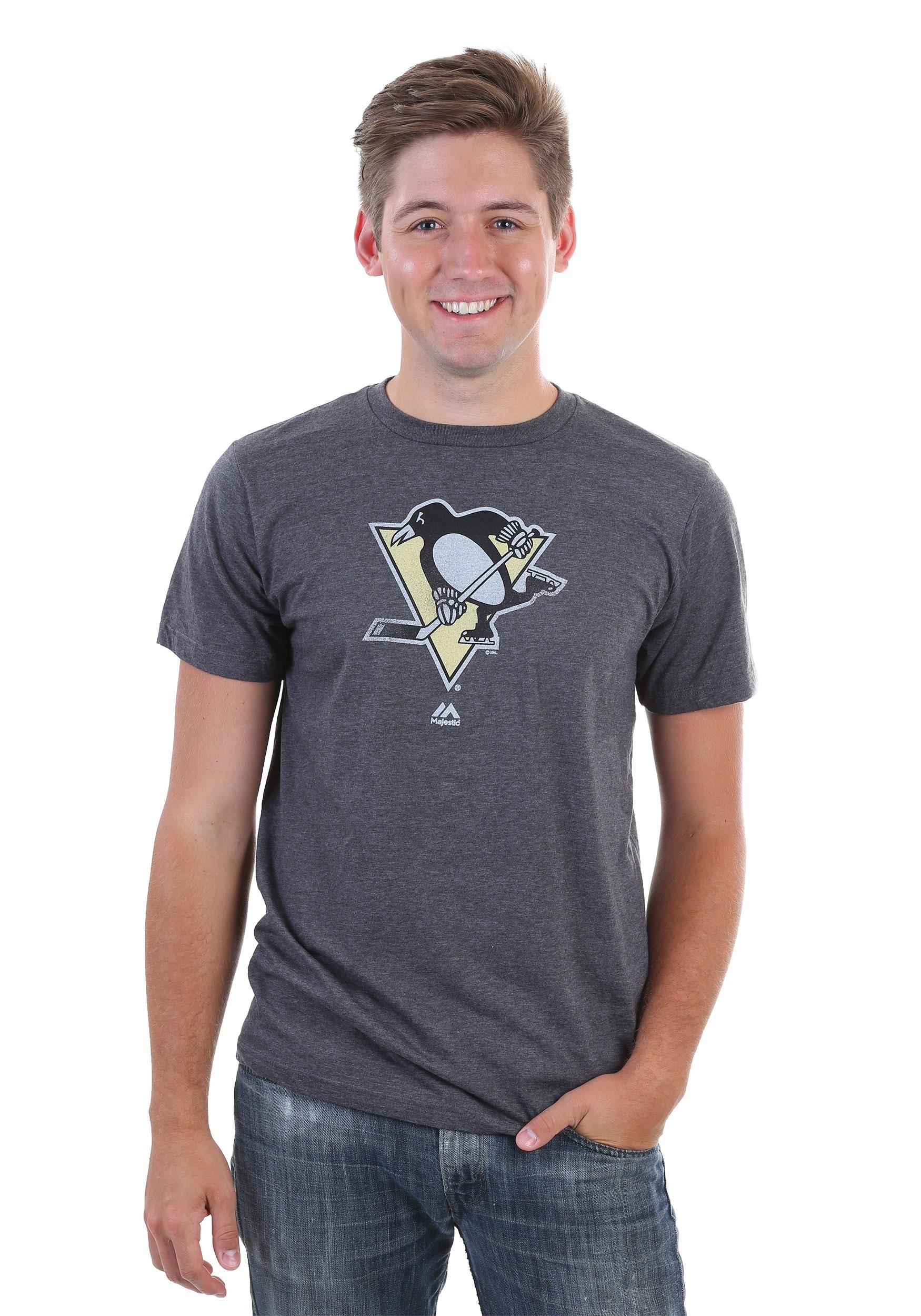 Pittsburgh Penguins Men's Raise The Level Shirt MJMTP2259A2RJJ7