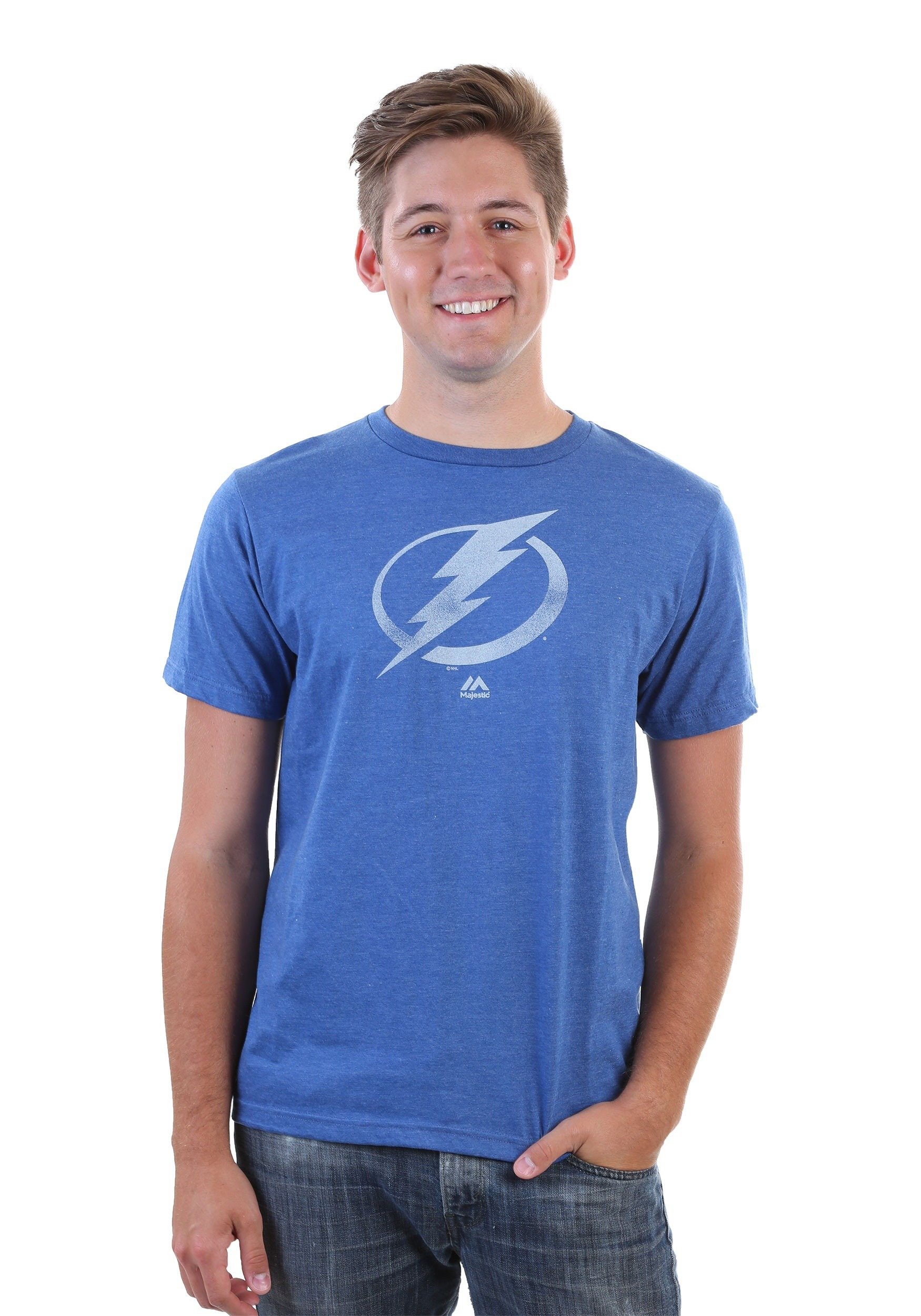Tampa Bay Lightning Men's Raise the Level Shirt MJMTP2668A2GKJJ7