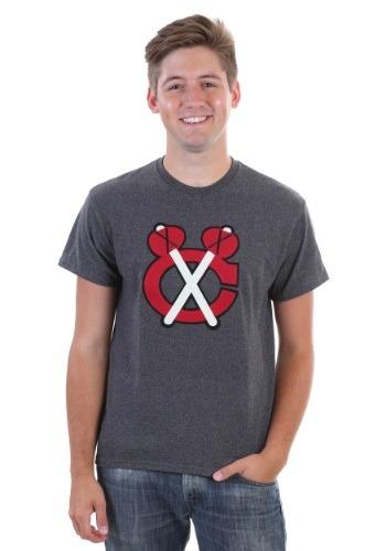 Chicago Blackhawks Vintage Tek Patch Mens Shirt