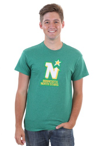 Minnesota North Stars Vintage Tek Patch Men's T-Shirt
