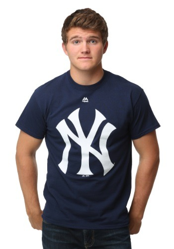 New York Yankees Official Logo Men's T-Shirt