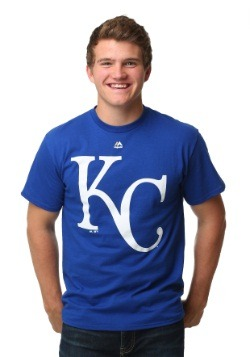 Kansas City Royals Official Logo Men's T-Shirt