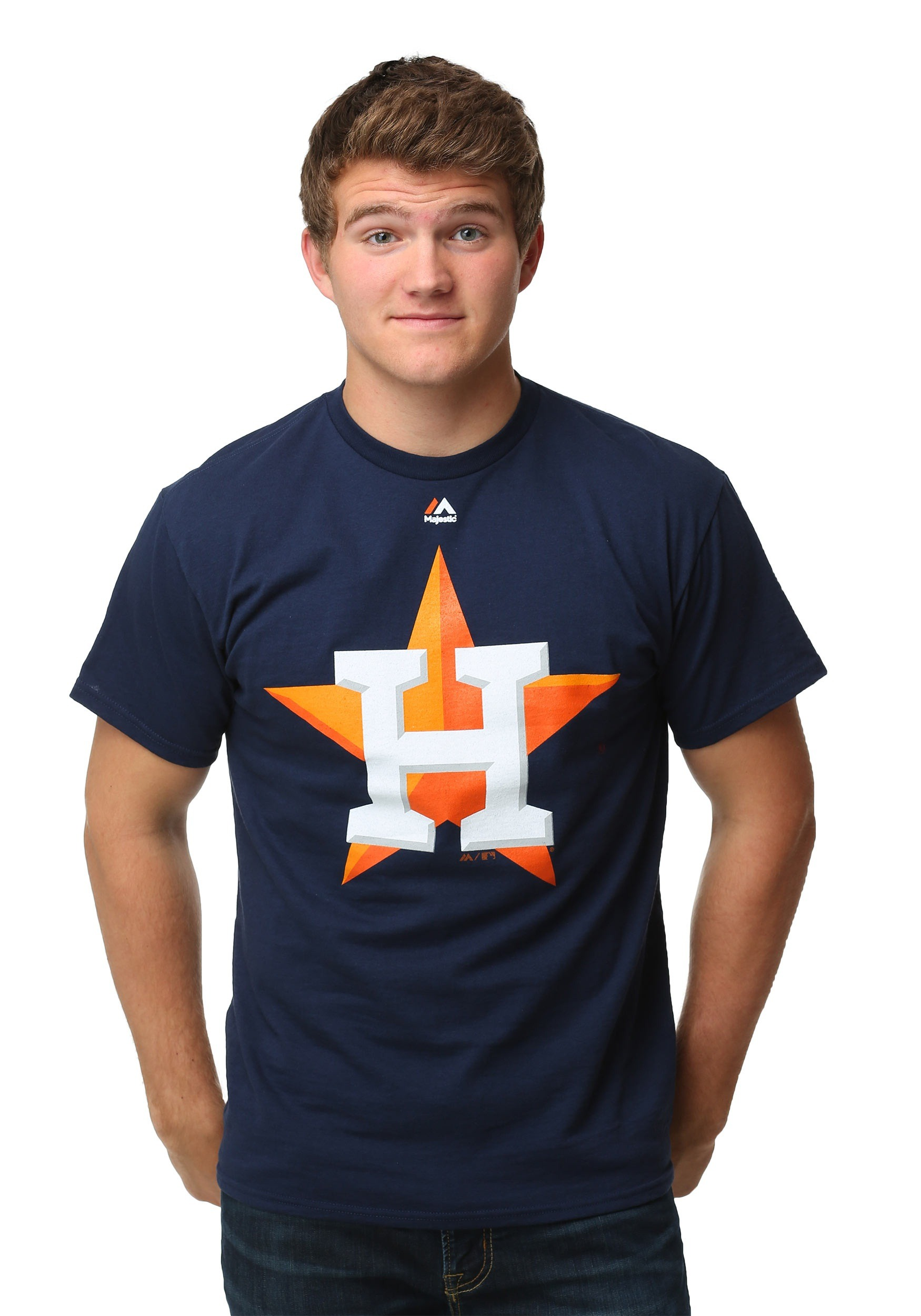 the best attitude 38d87 aeecf Houston Astros Official Logo Men's T-Shirt