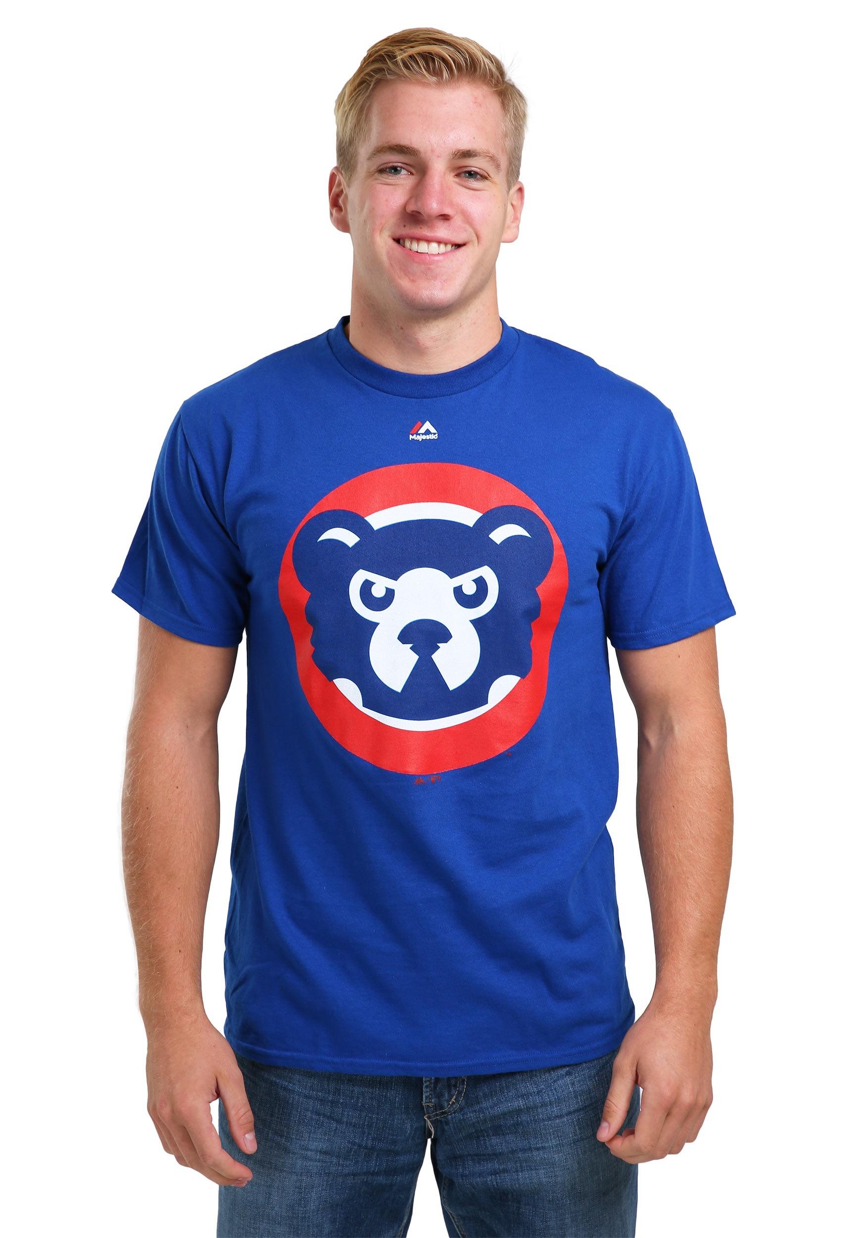 Chicago Cubs Cooperstown Logo T-Shirt for Men 66b171902