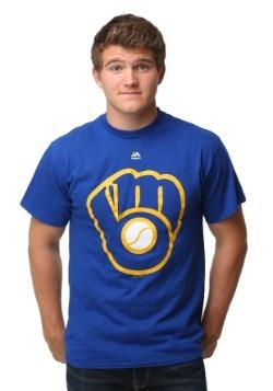 Milwaukee Brewers Cooperstown Logo Men's T-Shirt