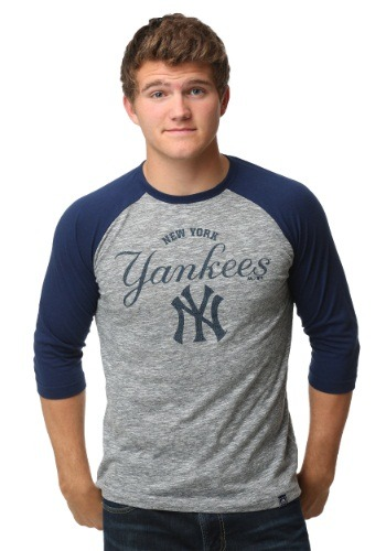 New York Yankees Fast Win Mens Raglan