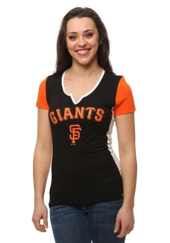 San Francisco Giants Time to Shine Women's T-Shirt