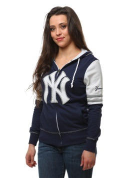 New York Yankees Big Time Attitude Womens Hoodie