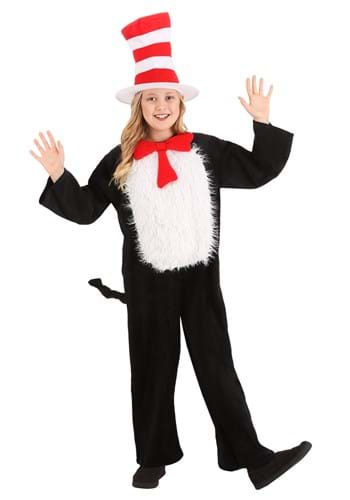 Kids Deluxe Cat in the Hat Costume Main UPD