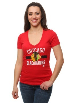 Chicago Blackhawks One Game At a Time Women's T-Shirt