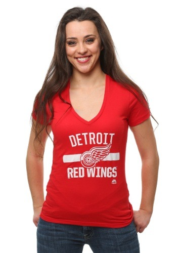 Detroit Red Wings One Game At a Time Women's T-Shirt