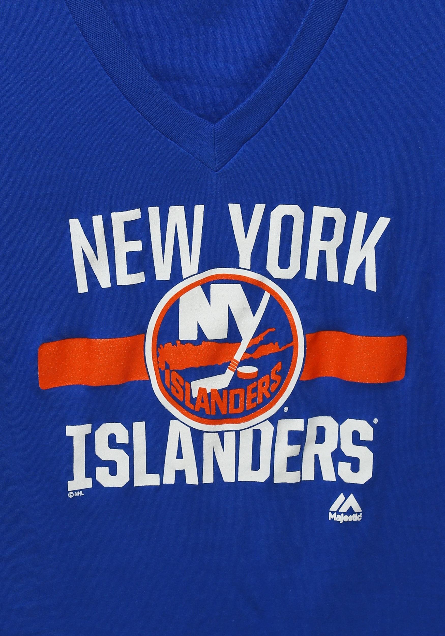 Womens New York Islanders One Game At a Time T-Shirt 2e95da44b