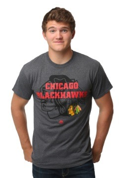 Chicago Blackhawks Wrist Shot Men's T-Shirt