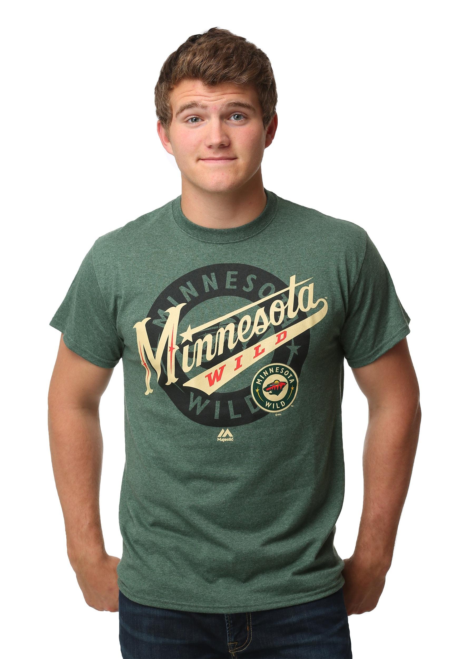 Minnesota Wild Wrist Shot Men's T-Shirt MJM952617A2APU5E