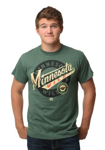 Minnesota Wild Wrist Shot Men's T-Shirt MJM952617A2APU5E-L