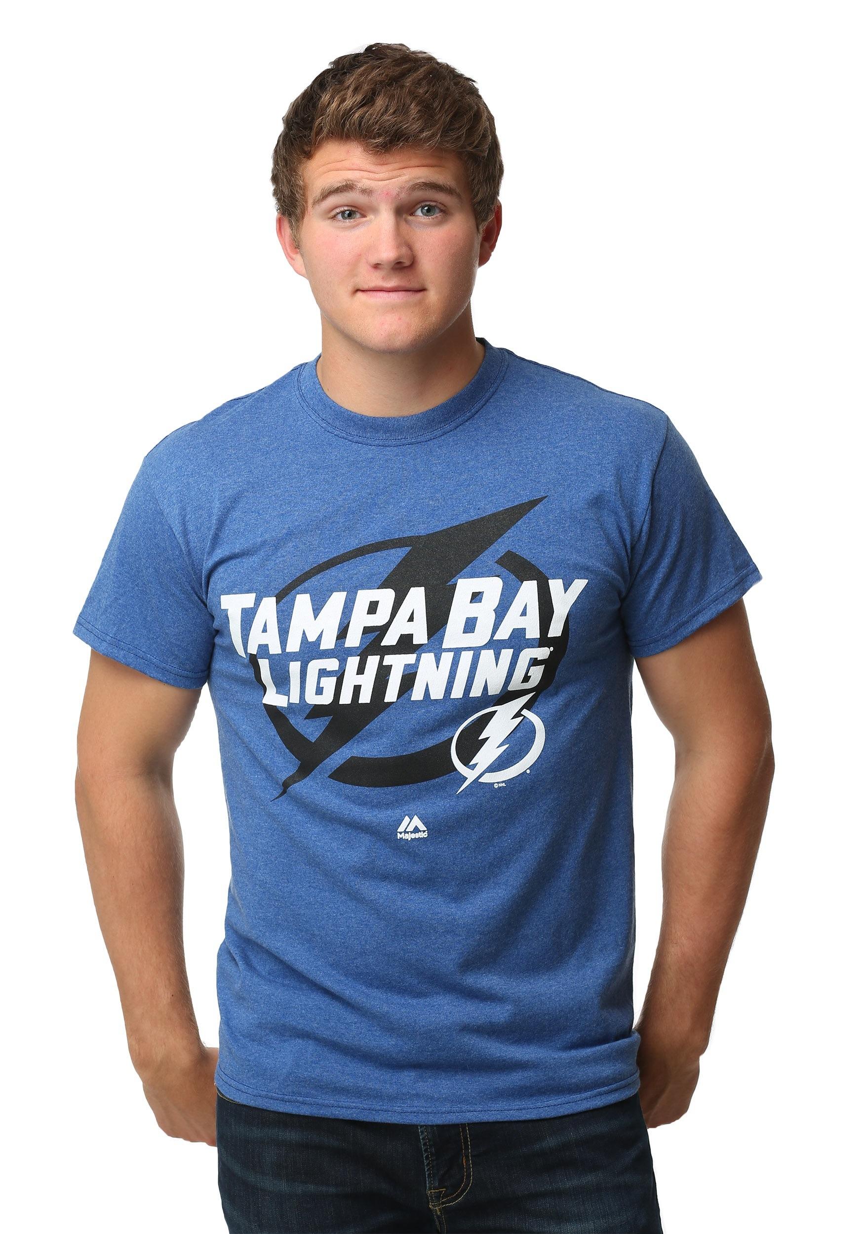 Tampa Bay Lightning Wrist Shot Men's T-Shirt MJM952668A2GKU5E