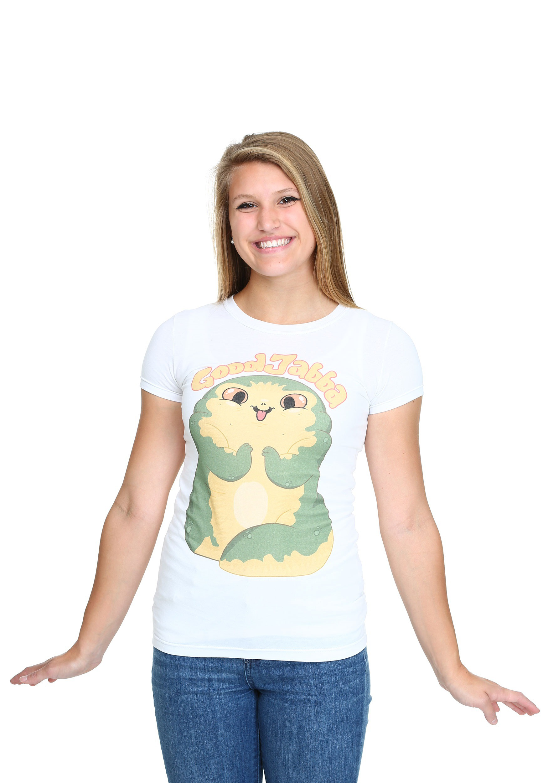 Womens Star Wars Cute Jabba T-Shirt FSSTRW167260001004