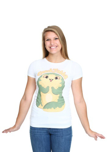 Womens Star Wars Cute Jabba T-Shirt FSSTRW167260001004-L