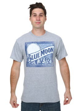 Blue Moon Logo Square Men's T-Shirt