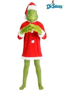 Mens Deluxe Grinch Costume