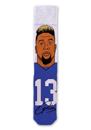 Odell Beckham Jr NFL Socks for Adults