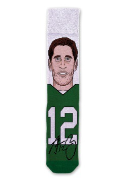 Aaron Rodgers NFL Socks