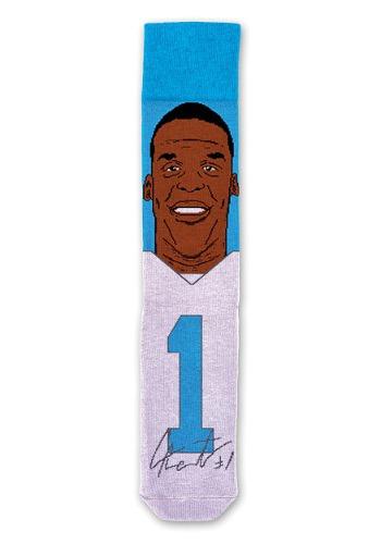 Cam Newton NFL Adult Socks