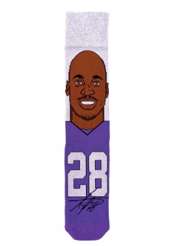 Adrian Peterson NFL Socks