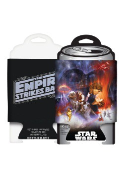 Star Wars Empire Strikes Back Poster Can Koozie